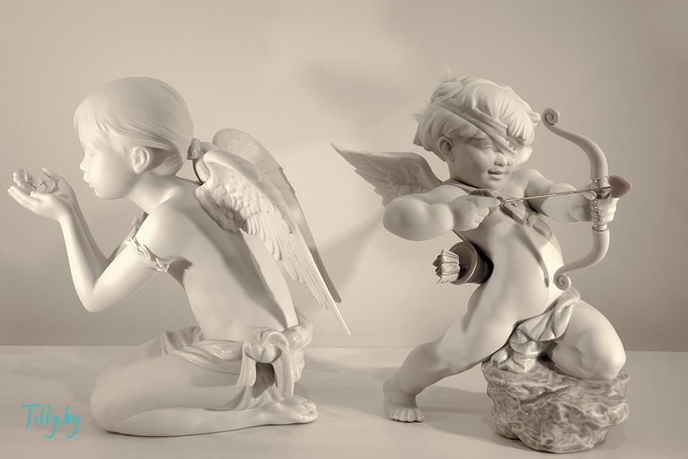 Статуэтки ангелочков для подарка