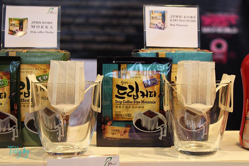Дрип-пакеты для кофе на Фуд шоу