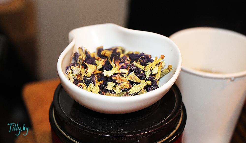Анчан синий чай на Фуд шоу