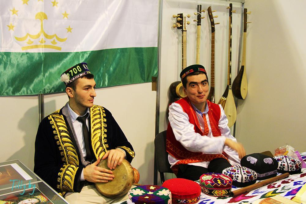 Стенд Такжикистана на Фуд шоу
