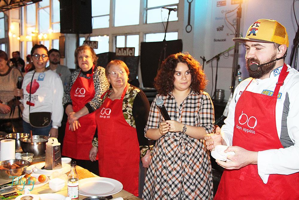 Шеф-повар и еврейские бабушки на празднике Сити Ханука
