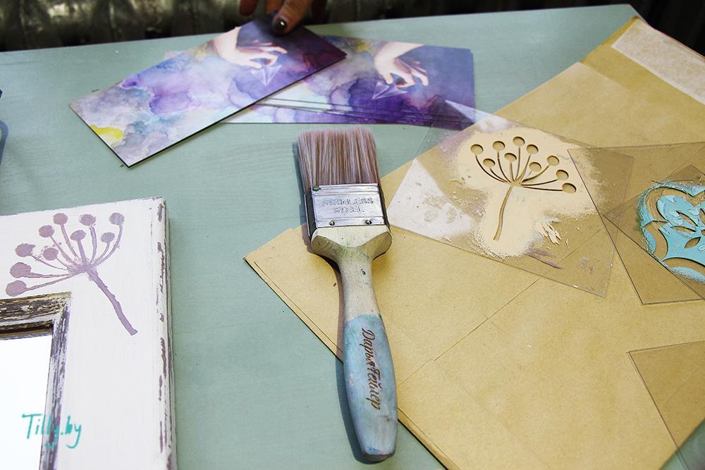 Материалы для мастер-класса по декорированию
