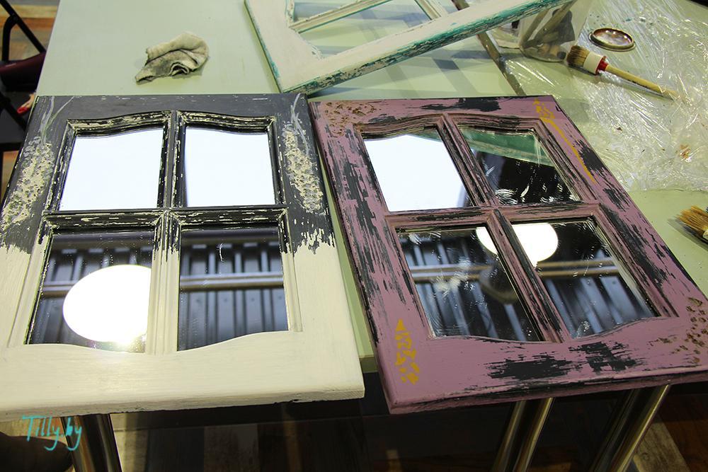 Готические окна на мастер-классе по декорированию