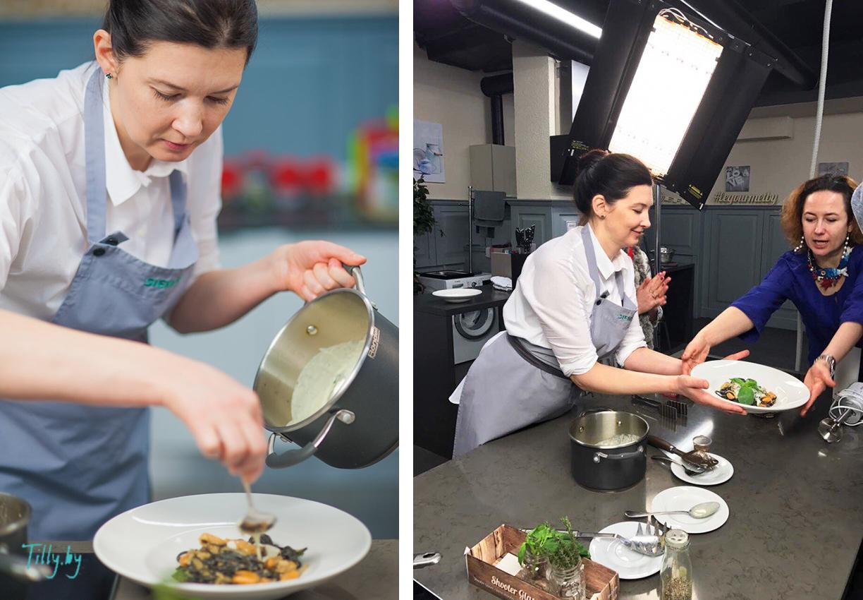 Наталья Миракле на конкурсе от Le gourmet