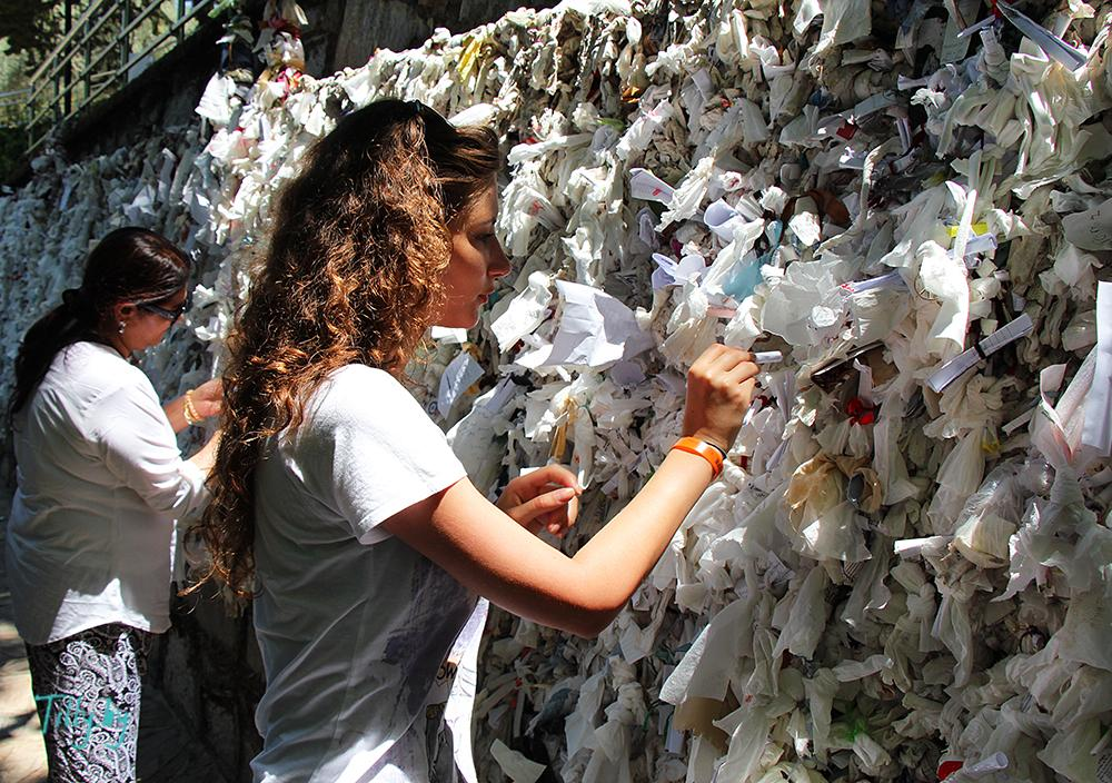 Стена желаний Эфес