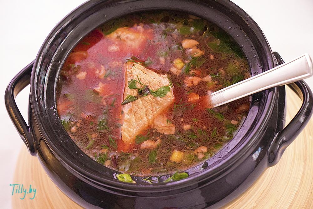 Суп Ботвинка из листьев свеклы