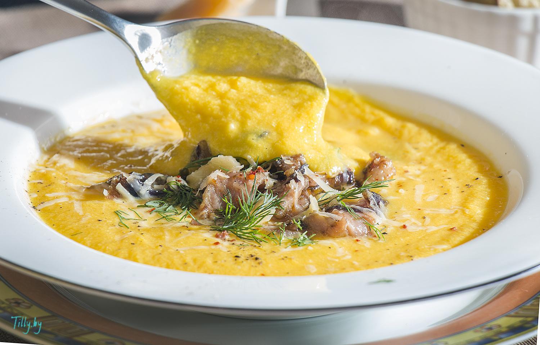 Тыквенный суп-пюре для детей рецепт пошагово