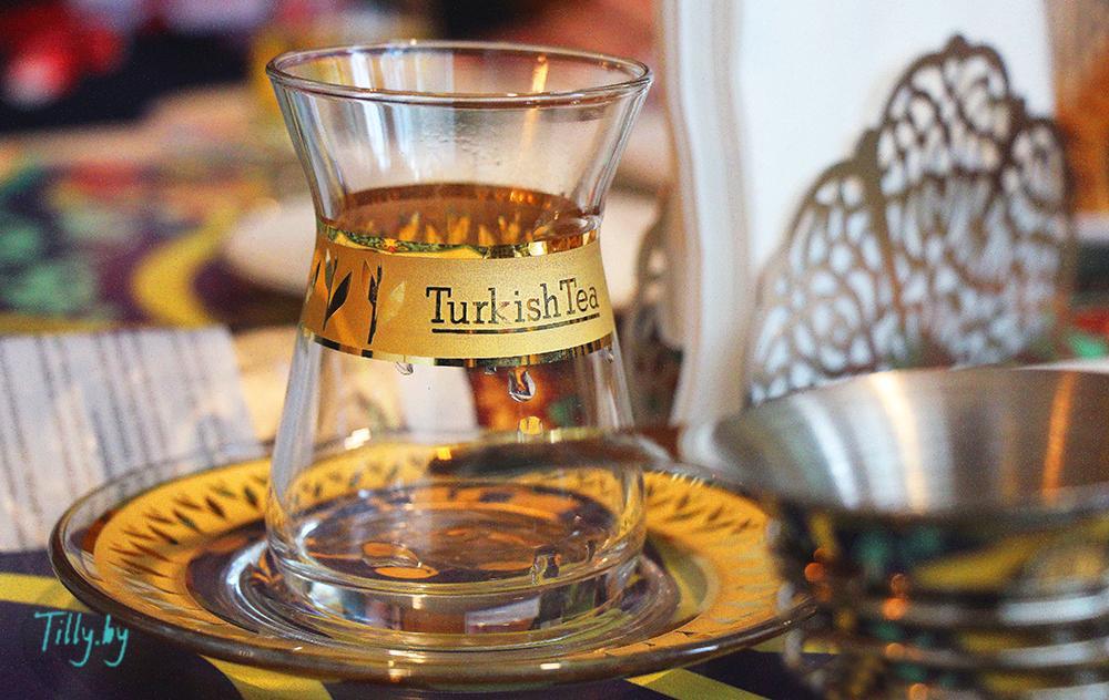 Заваривания чая по-турецки в армуды