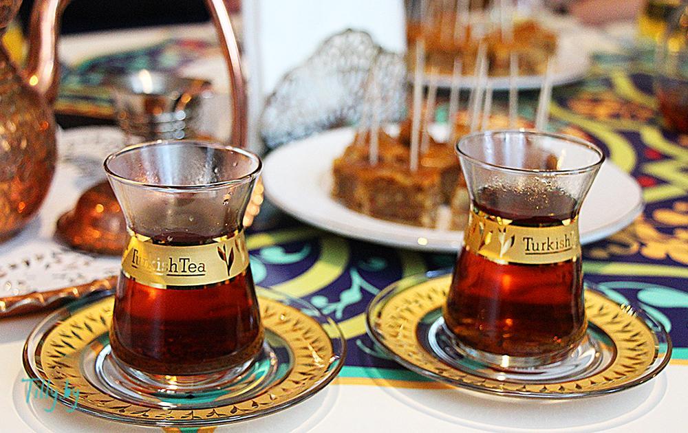 Turkish tea чайная церемония