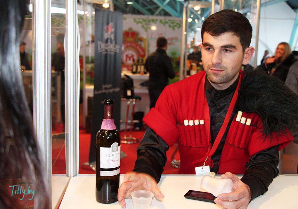 Грузинские вина на выставке Prodexpo-2016