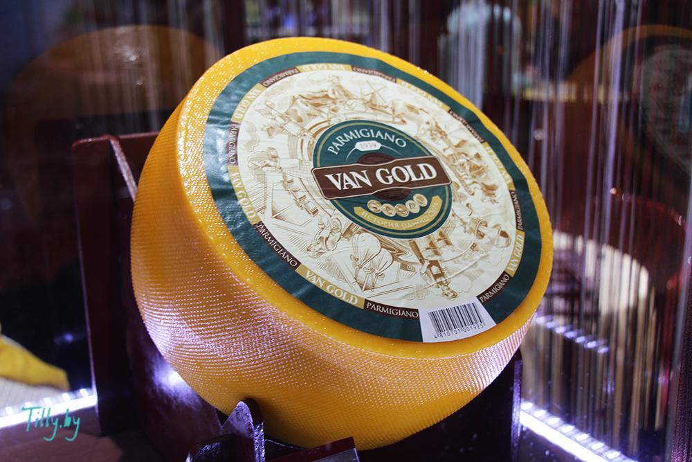 "Сыр ""Van Gold"" на выставке Prodexpo-2016"