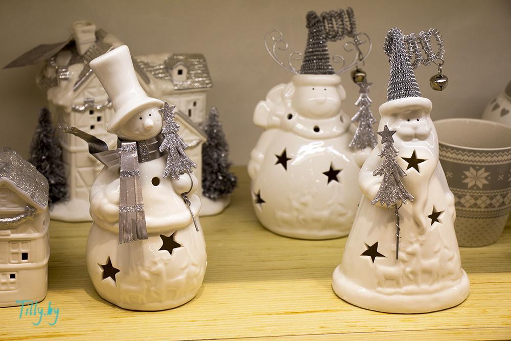 Статуэтки снеговиков для новогоднего подарка