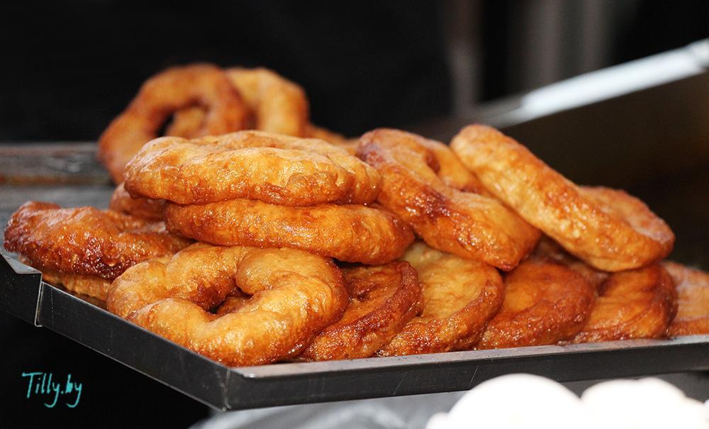 Пончики на празднике Сити Ханука