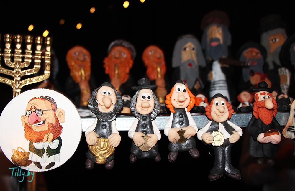 Еврейские сувениры на празднике Сити Ханука
