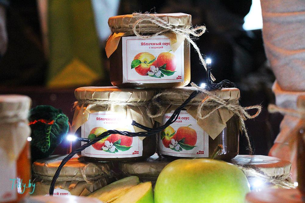 Яблочный соус на празднике Сити Ханука