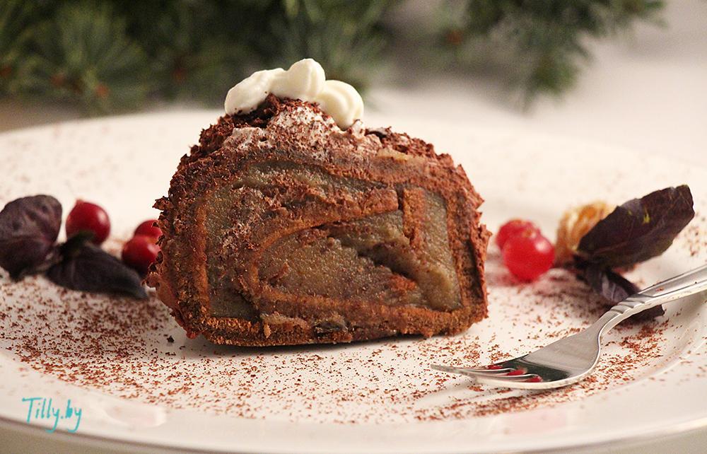 Десерт из каштанов