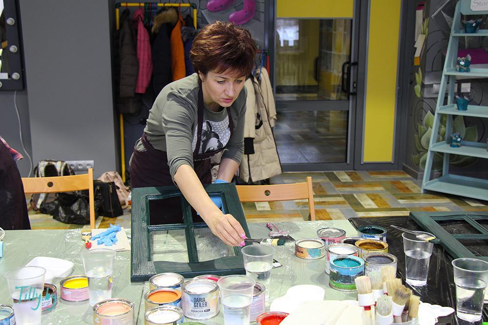 Участница мастер-класса в Культур-Мультур