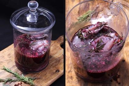 кролик в красном вине