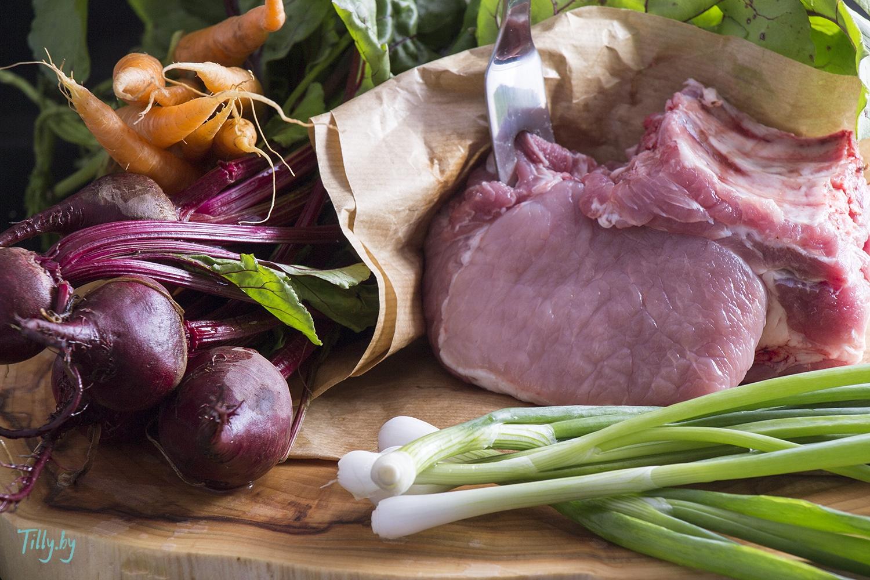 Суп Ботвинка из листьев свеклы рецепт