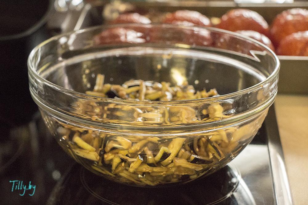 рецепт долмы с баклажанами